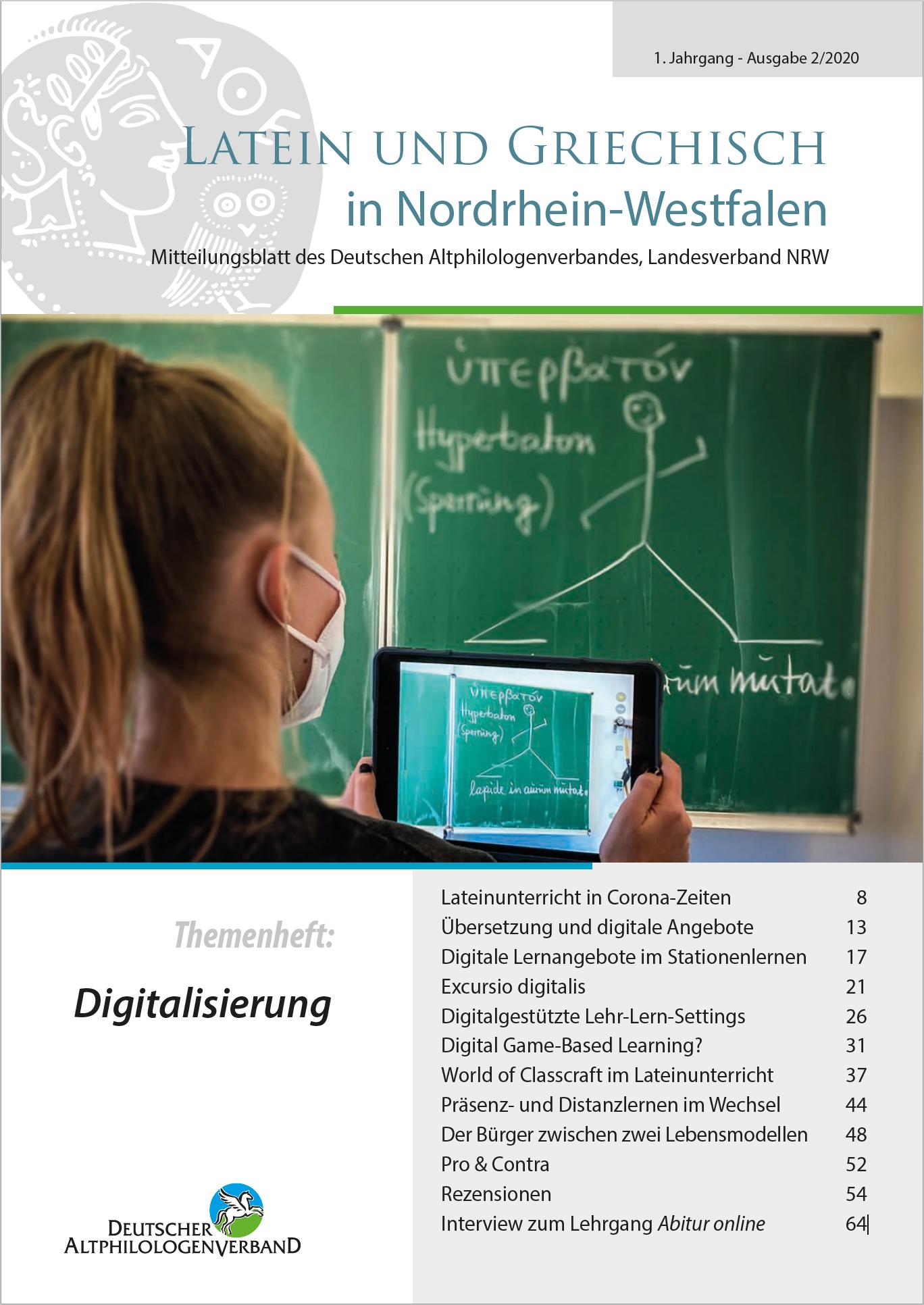 Ansehen Nr. 2 (2020): Digitalisierung