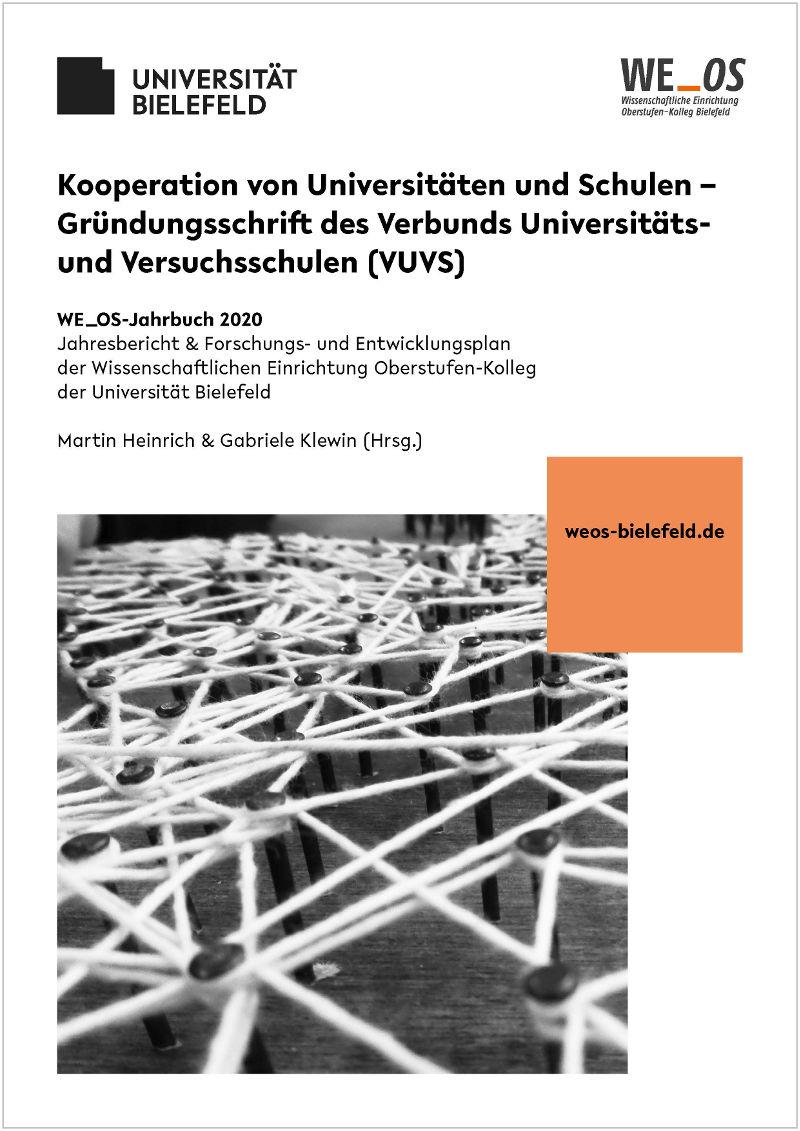 Ansehen Bd. 3 (2020): Kooperation von Universitäten und Schulen – Gründungsschrift des Verbunds Universitäts- und Versuchsschulen (VUVS)